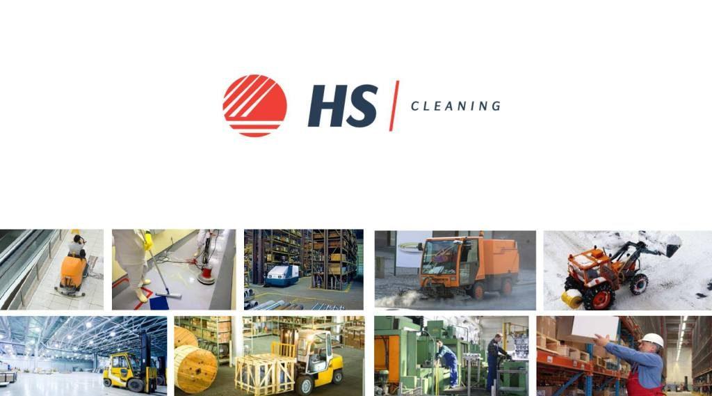 Higiena System (HS Multiservices) - logo działu cleaning