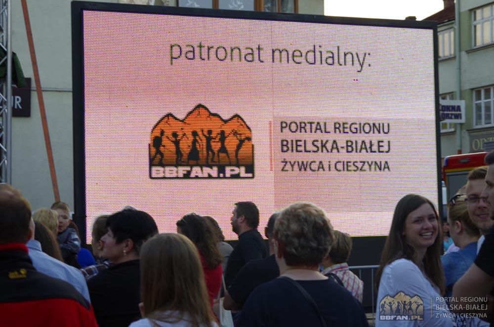 Logo Portalu BBFAN.pl widoczne na wideo telebimie.