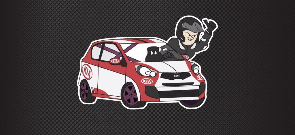 Gotowe Logo dla zawodnika Kia Lotos Race