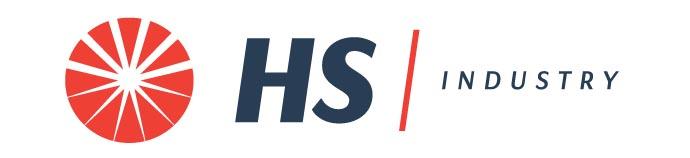 Rebranding firmy Higiena System (HS Multiservices) - logo działu industry