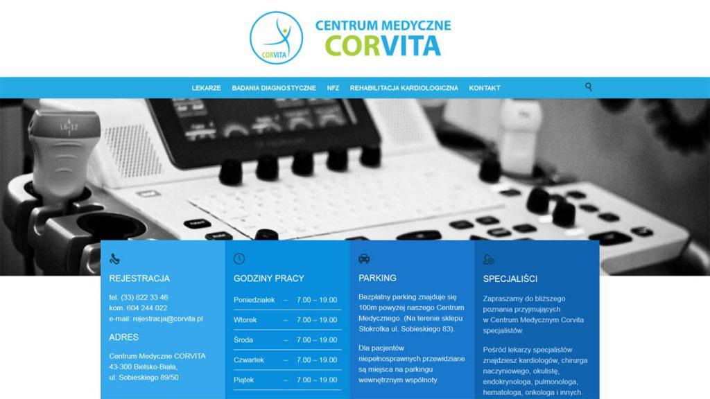Czym jest identyfikacja wizualna na przykładzie strony internetowej Centrum Medycznego Corvita