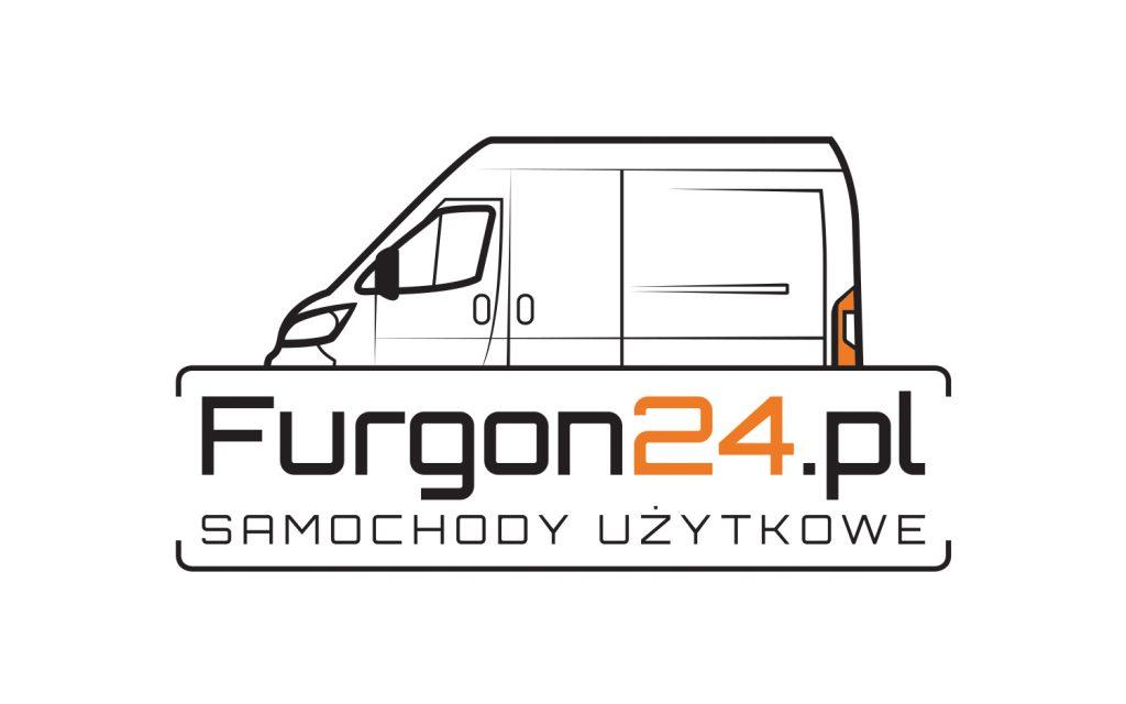 Logo stworzony dla handlarza auto częściami Furgon24